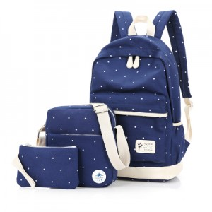 Набор рюкзак 3 в 1 арт Р125 Горошек