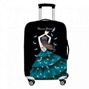 Чехол для чемодана арт.ЧЧ02,цвет: Парящий танец