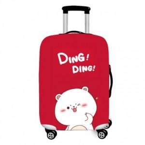 Чехол для чемодана арт.ЧЧ02,цвет: Ding ding