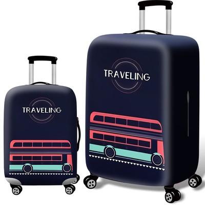 Чехол для чемодана арт.ЧЧ05,цвет: Traveling