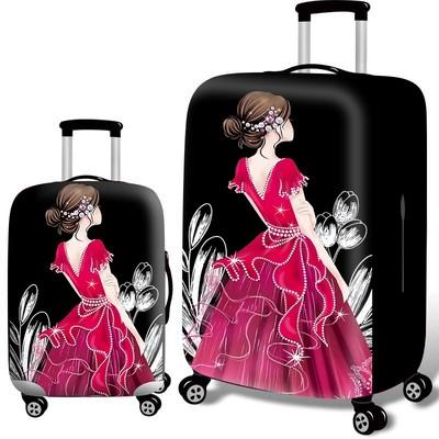 Чехол для чемодана арт.ЧЧ06,цвет: Прелесть