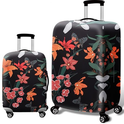 Чехол для чемодана арт.ЧЧ09,цвет: Сафлор Черный