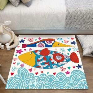 Ковер арт.КВ35,цвет: Подводный мир-04
