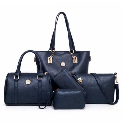 Набор сумок из 5 предметов арт.А579,цвет: Темно-Синий