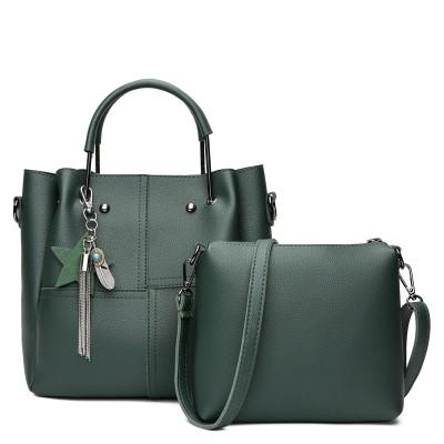 Набор сумок из 2 предметов арт.А591,цвет: Зеленый