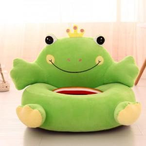Кресло детское арт.ДМК02,цвет:Зеленый лягушонок  №15