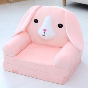 Кресло детское арт.ДМК03, цвет:Розовая собака