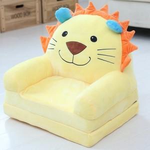 Кресло детское арт.ДМК03, цвет:Желтый лев