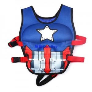 Детский спасательный жилет арт.СЖ03,цвет: Капитан Америка