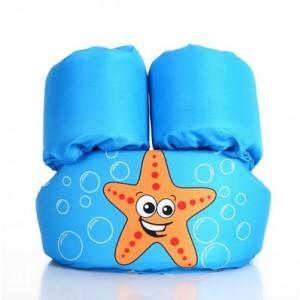 Детский спасательный жилет арт.СЖ08,цвет:Голубая морская звезда