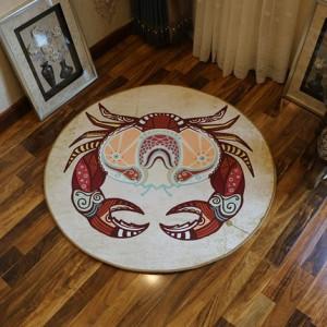 Ковер круглый арт.КВ36,Цвет: Рак