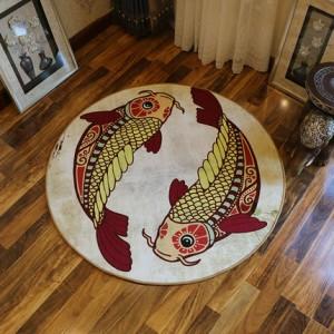 Ковер круглый арт.КВ36,Цвет: Рыбы