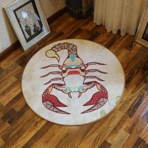 Ковер круглый арт.КВ36,Цвет: Скорпион