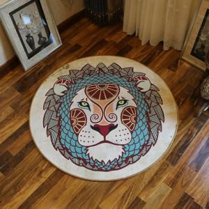 Ковер круглый арт.КВ36,Цвет: Лев