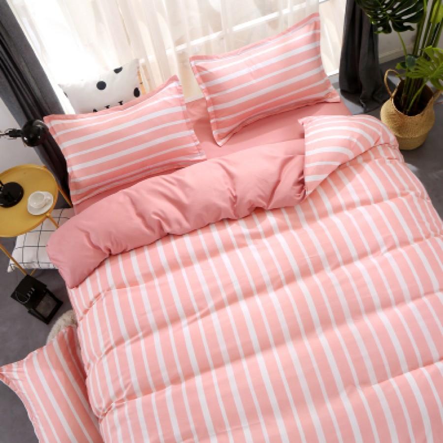 Постельный комплект арт.ПБ8,цвет: Розовая полоса
