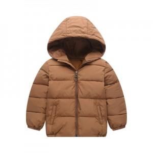 Детская куртка арт.КД073,цвет: Коричневый