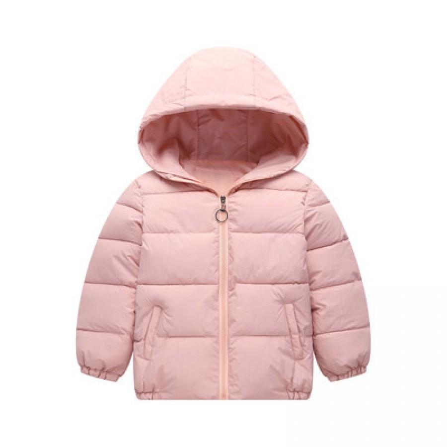 Детская куртка арт.КД073,цвет: Светло-Розовый