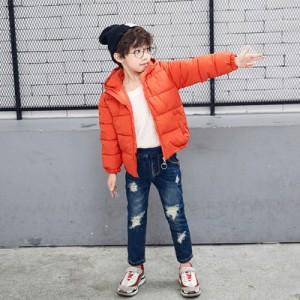Детская куртка арт.КД073,цвет: Оранжевый