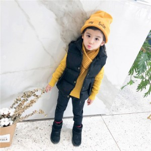 Детский жилет арт.КД076,цвет:Черный