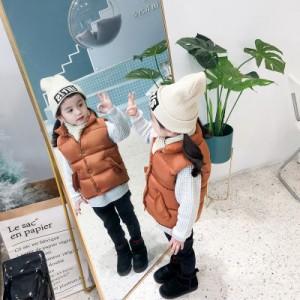 Детский жилет арт.КД076,цвет: Карамельный