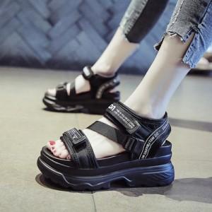 Женские сандалии арт.ОЖ377,цвет: Черный