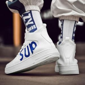 Мужские кроссовки арт.ОМ69,цвет: Белый синий