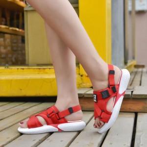 Женские сандалии арт.ОЖ399,цвет: Красный
