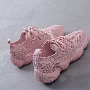 Женские кроссовки арт.ОЖ400,цвет: Розовый