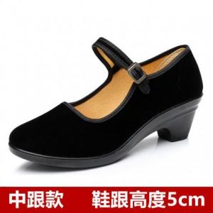 Женские туфли арт.ОЖ404,цвет: Черный 107