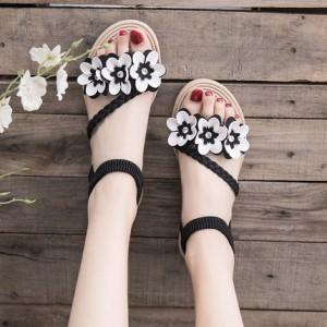 Женские сандалии арт.ОЖ405,цвет: Черный