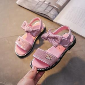 Детские сандалии арт.ДС122,цвет: Розовый