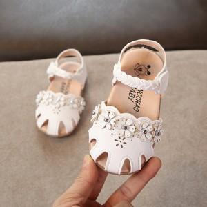 Детские сандалии арт.ДС124,цвет: Белый