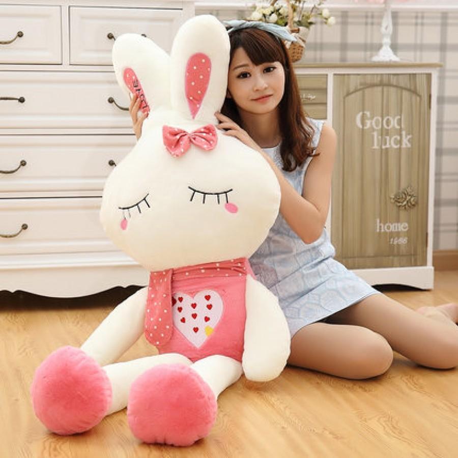 Мягкая игрушка арт.МИ12,цвет: Розовый кролик