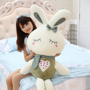 Мягкая игрушка арт.МИ12,цвет: Темно-зеленый кролик