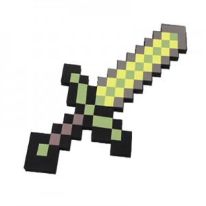 Игрушка MINECRAFT арт.ИГ14,цвет: Желтый меч