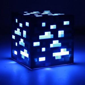 Набор MINECRAFT арт.ИГ15,цвет: Синяя светодиодная лампа (майнера)