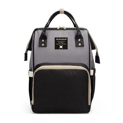 Рюкзак для мамы арт.Р367,цвет: Черный, серый