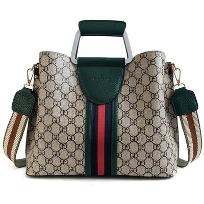 Женская сумка арт.Б592,цвет: Зеленый (большой)