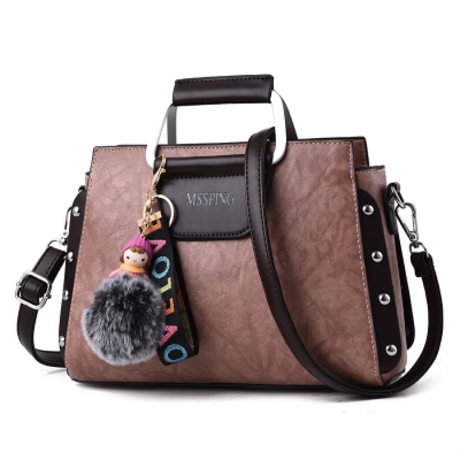 Женская сумка арт.Б595,цвет: Темно-Розовый