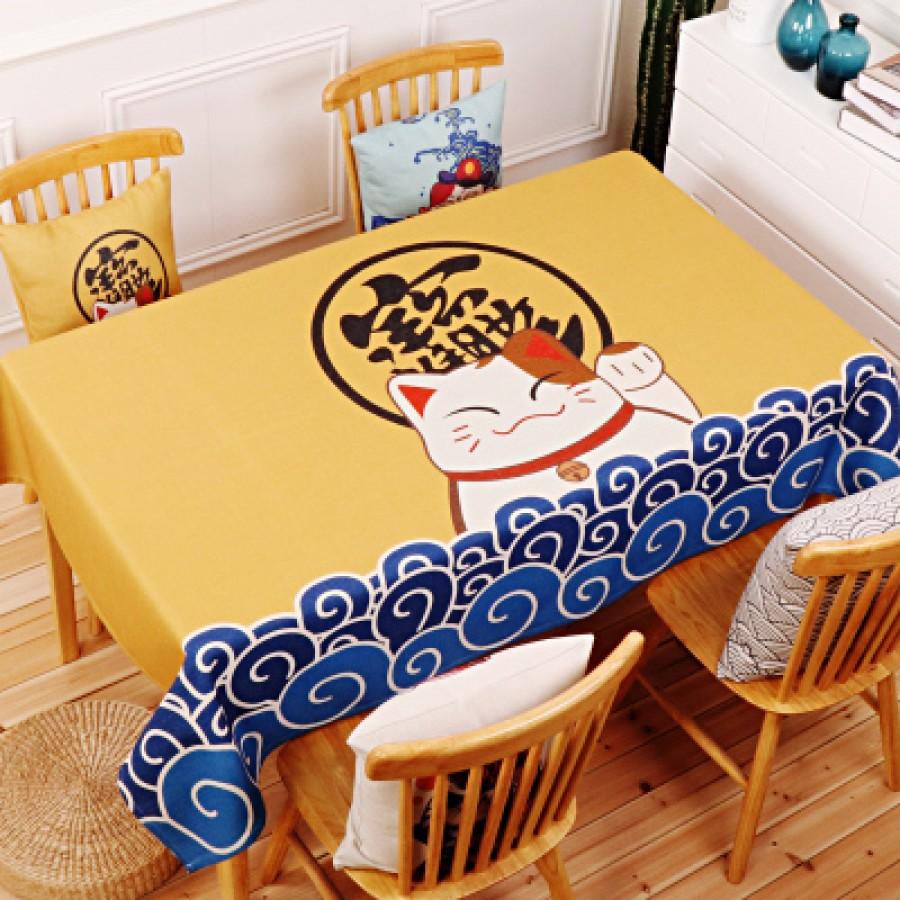 Скатерть хлопчатобумажная арт.СК01,цвет: Джинджер Lucky Fortune