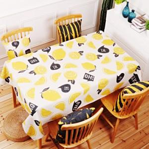 Скатерть хлопчатобумажная арт.СК01,цвет: Лимонно-желтый Лимон
