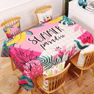 Скатерть хлопчатобумажная арт.СК01,цвет: Fuchsia summer