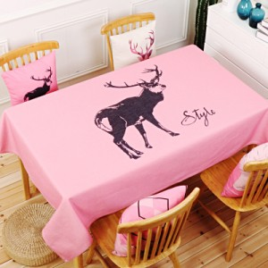 Скатерть хлопчатобумажная арт.СК01,цвет: Король оленей