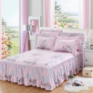Покрывало с рюшами арт.ПК6,цвет: Розовый сезон Роланда