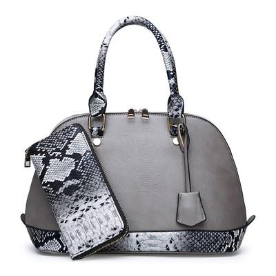 Набор сумок из 2 предметов  арт.А572,цвет: Серый