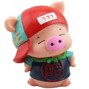 Копилка Piggy Bank арт.ОГ2019,цвет: Холодная свинка
