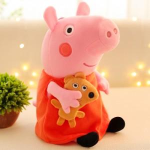 Мягкая игрушка арт.ИГ06,цвет:Свинка Пеппа