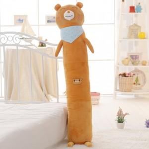 Мягкая игрушка-подушка арт.МИ09,цвет:Бурый медведь