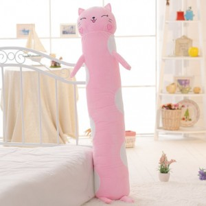 Мягкая игрушка-подушка арт.МИ09,цвет:Розовая кошка