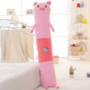 Мягкая игрушка-подушка арт.МИ09,цвет:Розовая свинья